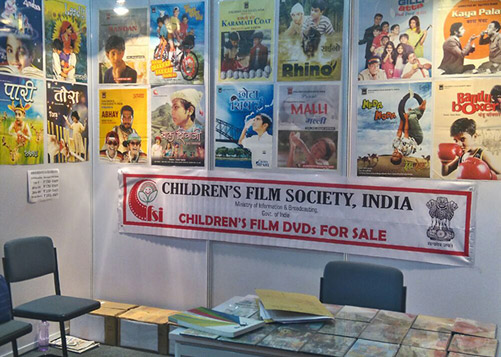 CFSI stall at NGO Expo - 2016