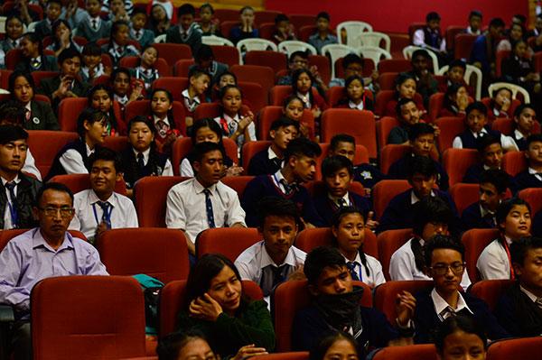 Internaitonal Children's Film Festival  North East organized in Kohima, Nagaland.