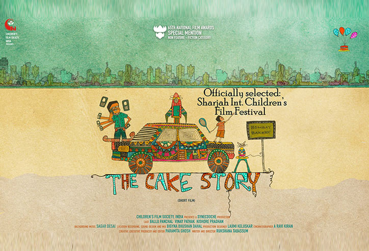 CFSI's film 'The Cake Story' added one more feather in cap
