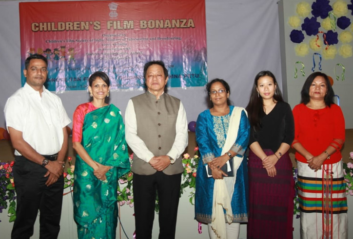 Inauguration of Children's Film Bonanza in Aizawl, Mizoram