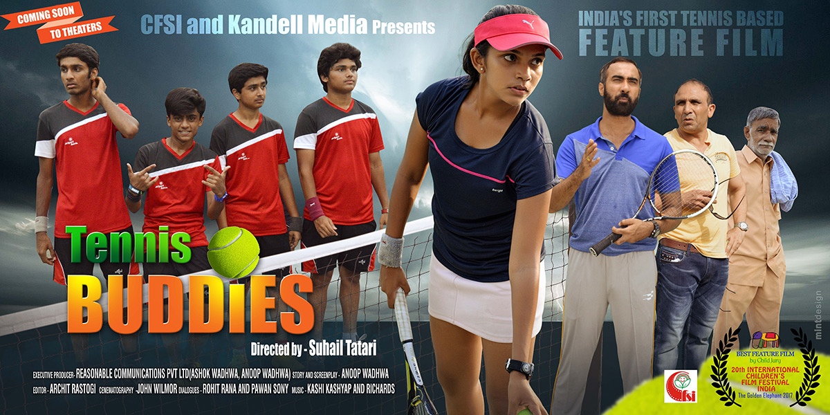 CFSI film 'Tennis Buddies' Coming Soon to Theatres