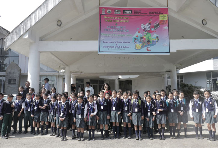 Swati Pandey, CEO, CFSI with little audience of Kohima Nagaland